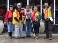 Highway clean up volunteers