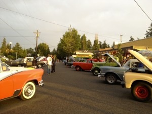 Classic cars on 4th Street