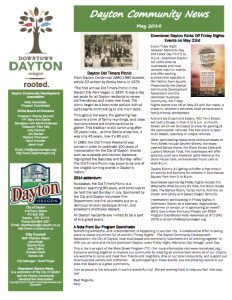 Dayton Newsletter