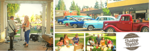 Dayton Friday Nights: Every Friday, June through August @ Downtown Dayton, Oregon