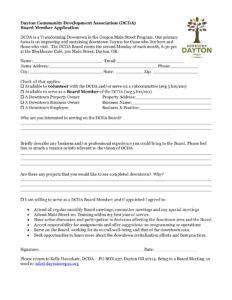 DCDA-Board-application-2018-232x300 Ociation Board Application Form on board application letter, board game form, contact us form, strategic plan form, volunteer form, board information form, board background,