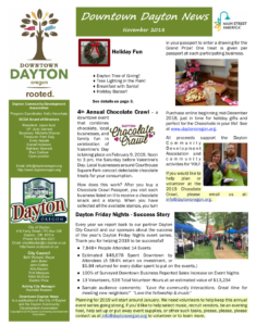 Winter 2018 Newsletter front page